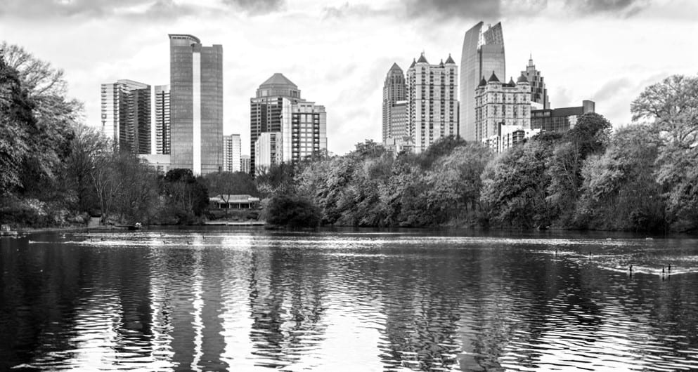 Lake near plastic surgery office in Atlanta