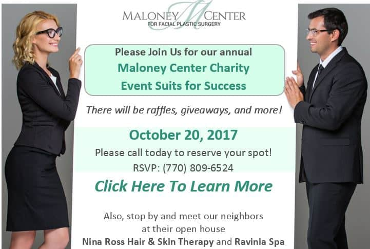 Maloney Center Charity Event Suits for Sucess